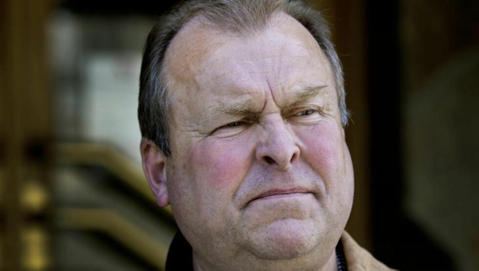 SLO ALARM:   Politiførstebetjent Roy Riksvold slo alarm, og mener han har funnet uheldige forbindelser mellom påtalemyndigheten og Frimurerlosjen. Foto: Henning Lillegård/Dagbladet.