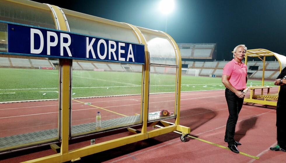SER FRAMGANG: Jørn Andersen mener det nordkoreanske landslaget er 60prosent bedre enn det var dahan tok over. All foto: Morten Pedersen