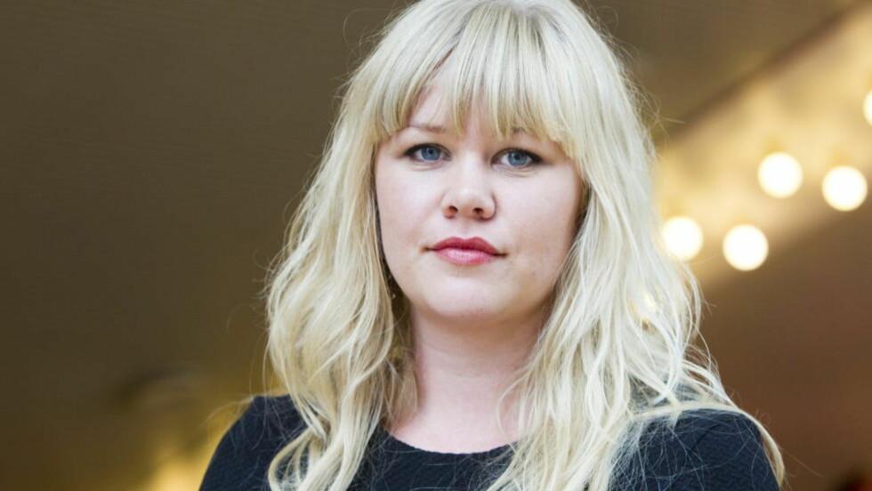 NOMINERT:  Forfatter Aina Basso er nominert til Nordisk Råds Litteraturpris for barne- og ungdomslitteratur. Nominasjonene ble offentliggjort i dag. Foto: Berit Roald / Scanpix