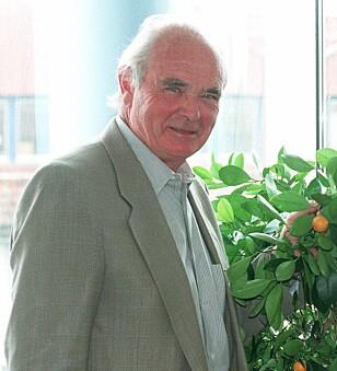 PROFESSOR: Ernæringsekspert, lege og professor Kåre Norum. Foto: Per Løchen / NTB / Scanpix