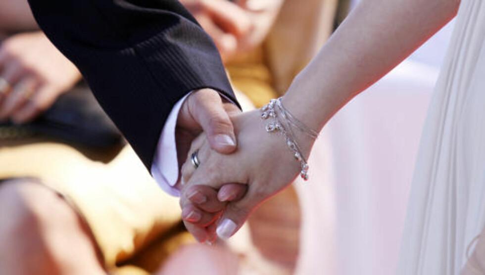 SKAPER KRANGEL: Mange vordende brudepar bekymrer seg om det økonomiske aspektet ved å gifte seg. FOTO: cheapweddingphotographer.co.uk