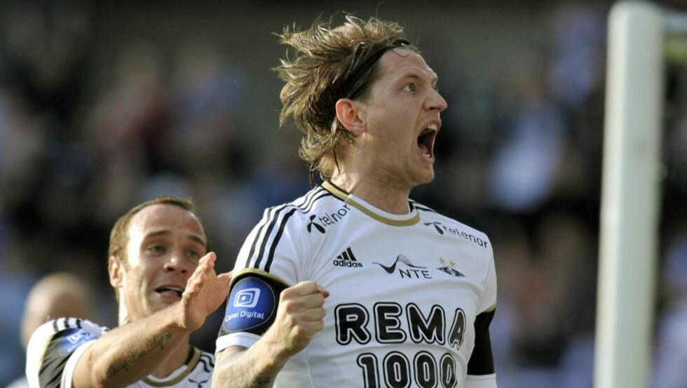 KAPTEIN: Rosenborg-spiller Stefan Strandberg blir Norges kaptein under U21-EM. Det var han også gjennom kvalifiseringen. Foto: Ned Alley / NTB scanpix