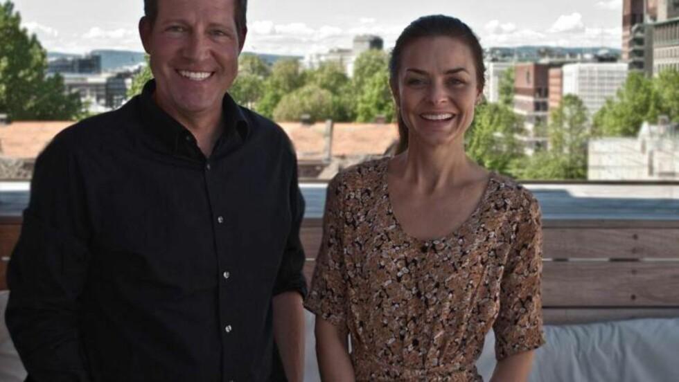 SAMARBEID: Regissør Richard Fox er full av lovord om den norske skuespilleren Agnes Kittelsen - og den norske naturen. Foto: Panorama Agency.