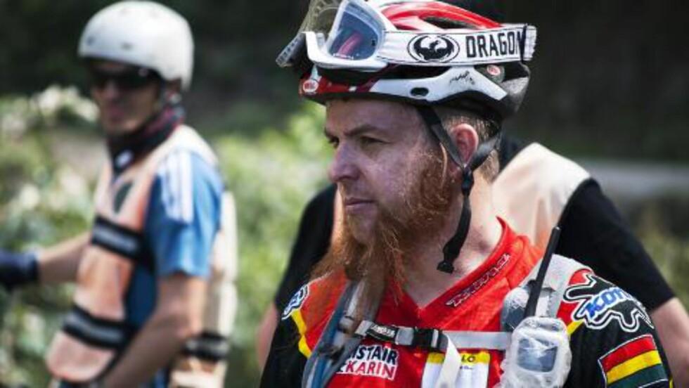 GUIDE: Alistair Matthew er mannen bak fenomenet, og siden han i 1998 startet selskapet Gravity har han guidet syklister ned Dødsveien mer enn 1300 ganger. Foto: TIM SNELL