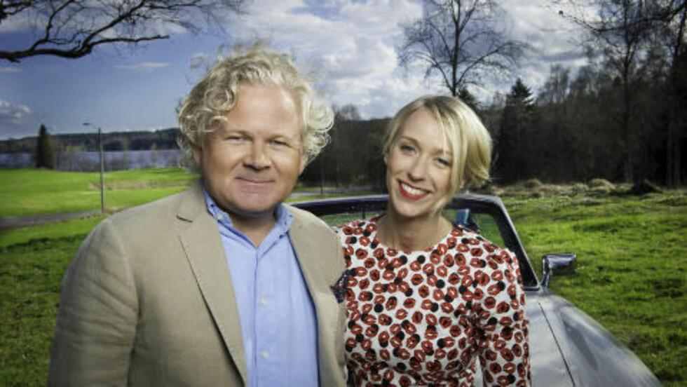 TV 2 FORTSETTER: TV 2 sender «Sommertid» for femte år på rad, ledet av Øyvind Fjeldheim og Katarina Flatland. Foto: Glenn Svendsen / TV 2