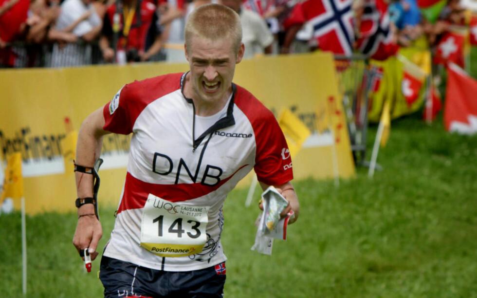 DROPPER NM: Verdensmester i orientering, Olav Lundanes, dropper VM. Han tar også en pause på ubestemt tid. Her er han fra VM i Sveits i fjor. Foto: Jens O. Køvrud / Dagbladet