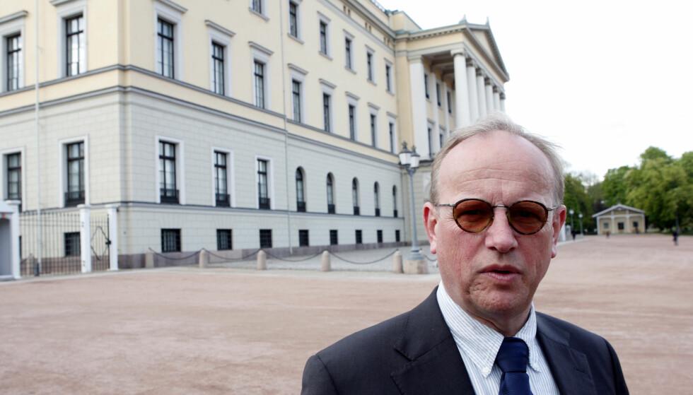 SLUTTER PÅ SLOTTET: Slottsforvalter Ragnar Osnes. Foto: Knut Falch / SCANPIX