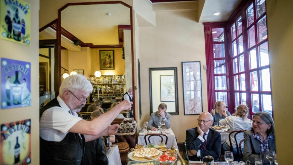 Fristelser på fransk: I tretti år har en tur på Brasserie France vært en bekvem måte å dra til Frankrike på. Det er det fremdeles. Foto:Thomas Rasmus Skaug / Dagbladet