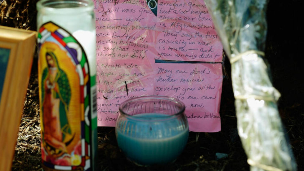 - VIL SAVNE DEG: Flere har lagt igjen sine minneord til journalisten, som ble 33 år. Foto: NTB Scanpix