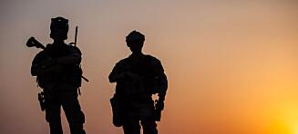Stolt over soldatene