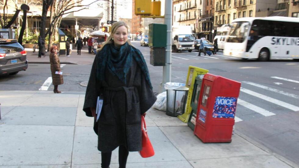 I NEW YORK: Barne-, likestillings- og inkluderingsminister Inga Marte Thorkildsen (SV) er i New York for å lede den norske delegasjonen under FNs kvinnekommisjon. Foto: Vegard Kristiansen Kvaale / Dagbladet