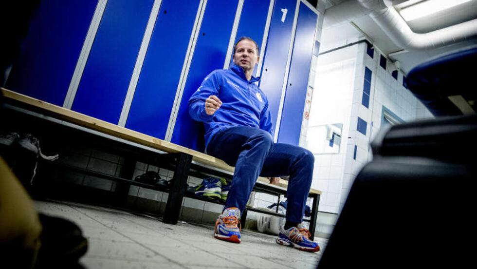 ENGASJERT: Kenn Hallstensen kan ikke forstå hvorfor ikke flere andre klubber driver på samme måte som Strømsgodset gjør. Foto: Bjørn Langsem / DAGBLADET