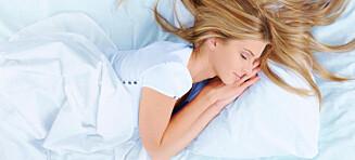 Slik sover du godt uten bekymringer