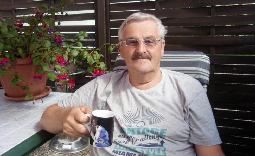KJEMPER:  Pensjonisten Jørn Tore Weckhorst (67) kjemper ikke bare for sin egen skattesak mot svenske myndigheter. Han forsøker også å hjelpe andre pensjonister. Foto: Privat