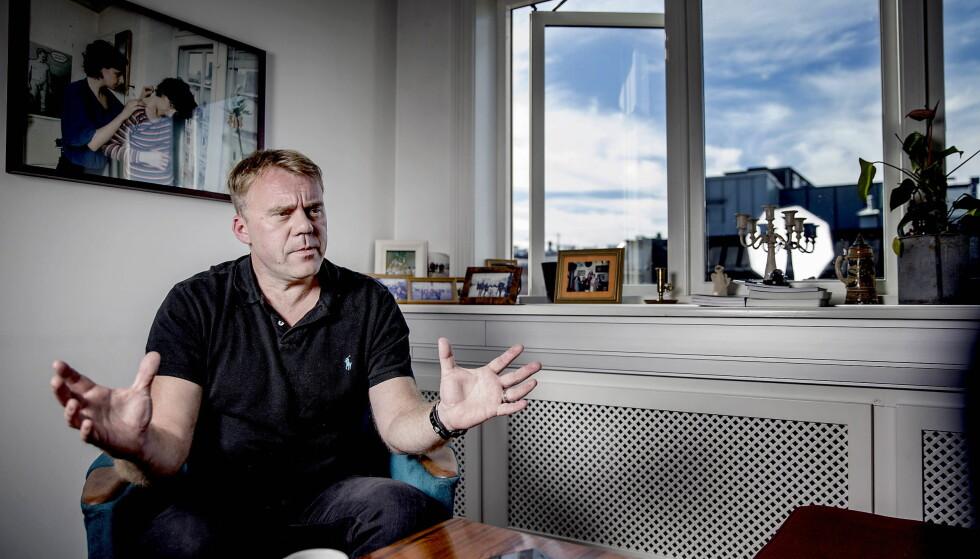 STENGT UTE: TV 2-journalist Øystein Bogen skriver at TV-kanalen er nektet akkreditering til FIFA-arrangement hvor Russlands president, Vladimir Putin, skal delta. Foto: Bjørn Langsem / Dagbladet