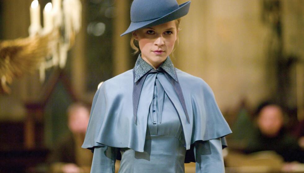 HARRY POTTER: Clémence Poesy i rollen som Fleur Delacour i Harry Potter og ildbegeret. Foto: Warner Bros.