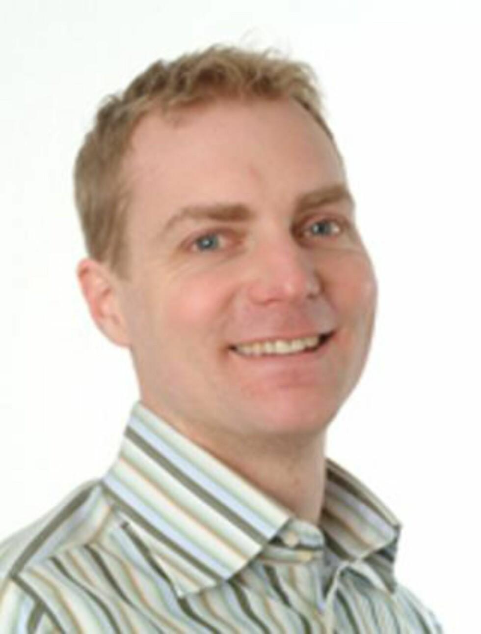 FORSKER: Anders Fagerjord, førsteamanuensis, dr.art. ved Institutt for medier og kommunikasjon på Universitetet i Oslo. Foto: UIO