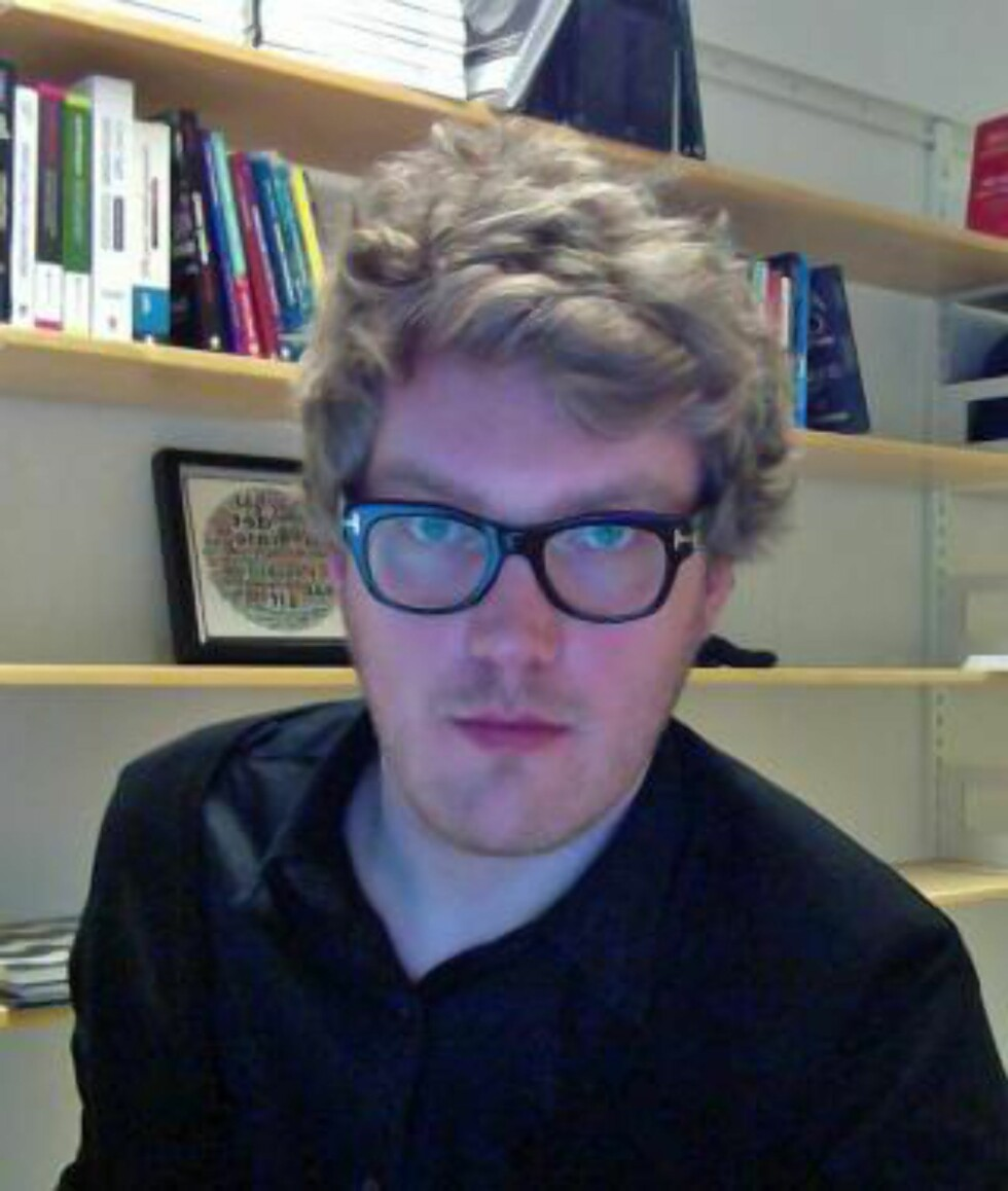 FORSKER: Anders Olof Larsson, PhD ved Institutt for medier og kommunikasjon på Universitetet i Oslo. Foto: PRIVAT.