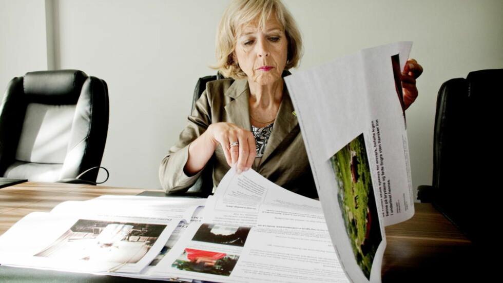 - ALVORLIG: Forsvarsminister Anne-Grete Strøm-Erichsen ber generaladvokaten om å etterforske saken om at Etterretningsbataljonen har kartlagt journalister.   Arkivfoto: Espen Røst / Dagbladet