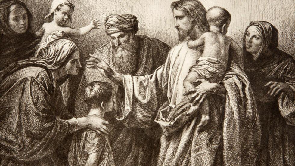 MILD OG FROM: Søndagsskoleutgaven er den Jesus alle kjenner: mild og barmhjertig. Men hvem var han bak masken?