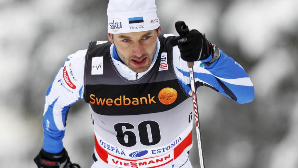 FRIKJENT: Estlands Andrus Veerpalu ble utestengt i tre år for doping, nå er han frikjent av idrettens voldgiftsrett. Foto: Erik Johansen / Scanpix