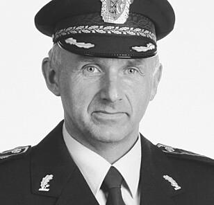 DREPT: Politimann Arne Sigve Klungland var på jobb under Nokas-ranet og ble skutt og drept av Schumann. Foto: Arild Hjelm / NTB Scanpix