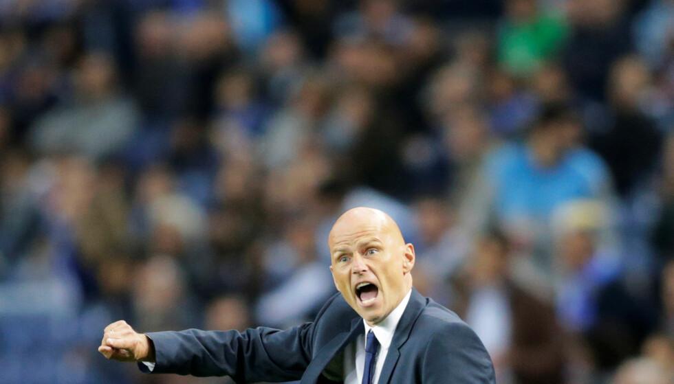 GOD EUROPAKVELD: Ståle Solbakken og FC København tok poeng borte mot Porto i Champions Leagues første runde. Foto: NTB Scanpix/Reuters / Miguel Vidal