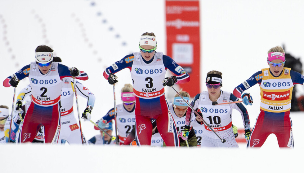 VENTER HJELP: I sporet har norske langrennsløpere lenge vært suverene. Utenfor trenger de hjelp av Olympiatoppen i påvente av Granskingkommisjonens rapport.FOTO: Maja Suslin/TT / NTB scanpix.