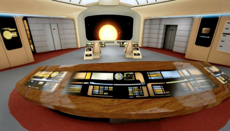 Fans gjenskaper legendarisk «Star Trek»-skip