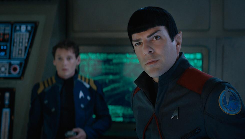 UTSETTES: Premieren på den nyeste TV-versjonen av «Star Trek». Her fra filmen «Star Trek Beyond», som kom på kino i august. Foto: United International Pictures