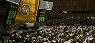 Ny våpenhandelsavtale vedtatt i FN