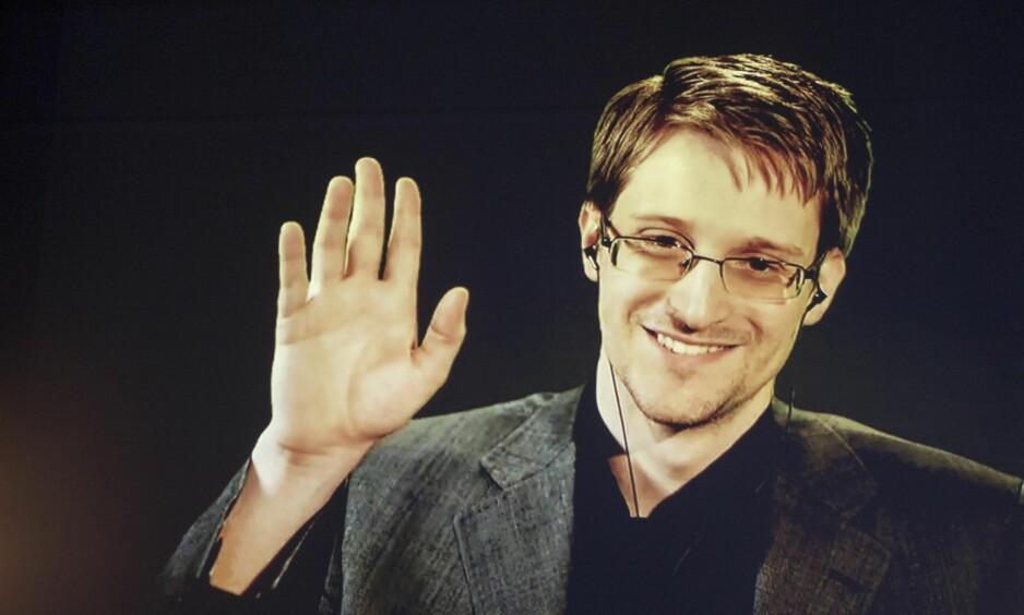 FÅR IKKE KOMME TIL NORGE: Edward Snowden