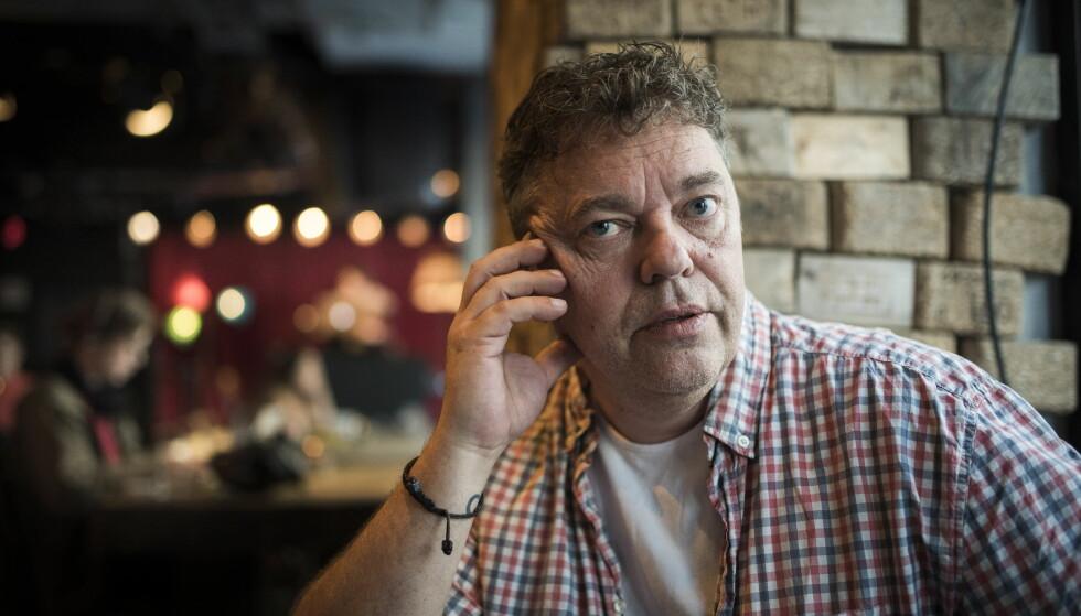 KRIMINELL FORTID: Trond Henriksen har vært omtalt som «Norges farligste kriminelle». Han er kjent fra dokumentarfilmen «Store gutter gråter ikke» fra 1995. Nå har han skrevet sin selvbiografi.  Foto: LARS EIVIND BONES
