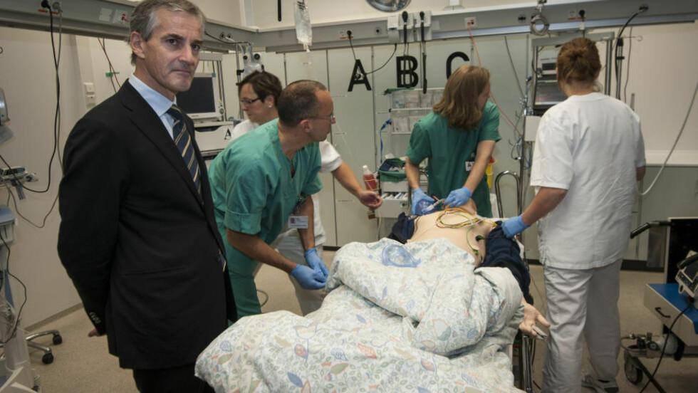 KORTERE FRIST: Helseminister vil korte ned pasientenes ventetid. Foto: Geir Otto Johansen/NTB scanpix.