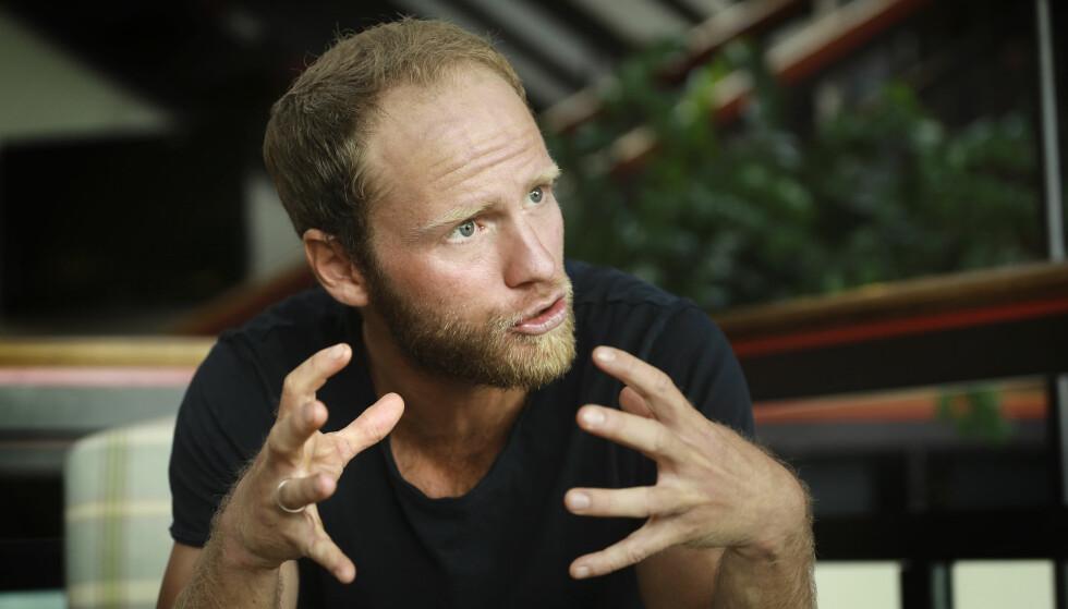 TAR ANSVAR: Martin Johnsrud Sundby forteller at han har ansvar for to positive dopingstester som ble kjent i juli. Foto: NTB scanpix