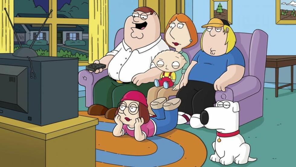 KUNSTEN OG VIRKELIGHETEN: En episode fra «Family Guy» er trukket fordi den hadde en referanse til dødsfall ved Boston maraton.