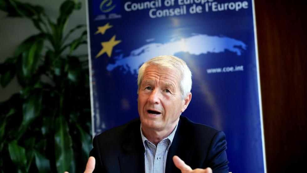 REFSER: Tidligere Ap-leder Thorbjørn Jagland er kritisk til mangel på tiltak for fattige barn. Krav om tiltak mot fattigdom kommer opp på landsmøtet som starter i morgen. Foto: Jacques Hvistendahl