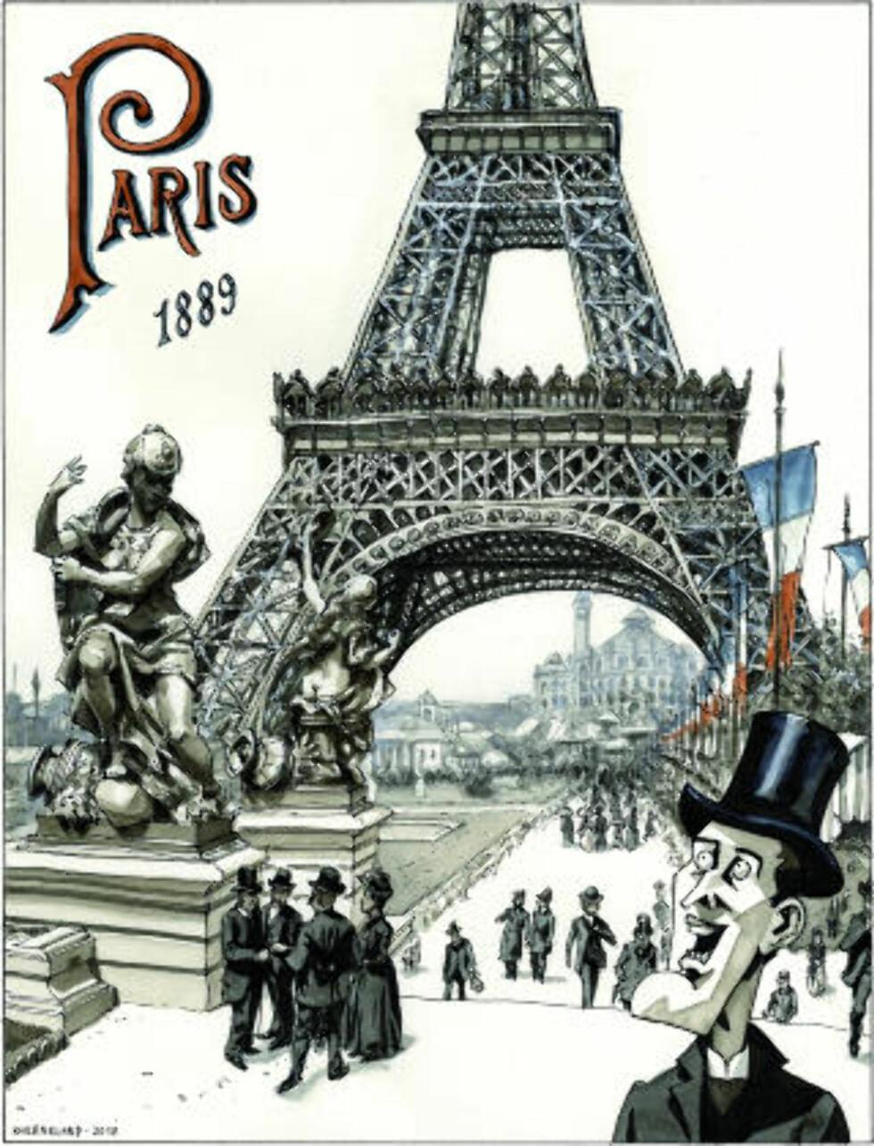 STORE BYER: Munch reiste mye rundt omkring i Europa, til byer som Berlin og Paris.
