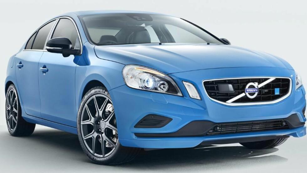 I PRODUKSJON: Volvo skal sette Volvo S60 Polestar i produksjon. Bilen utstyres med en sekssylindret motor på 350 hk og et dreiemoment over 500 Nm. FOTO: Volvo