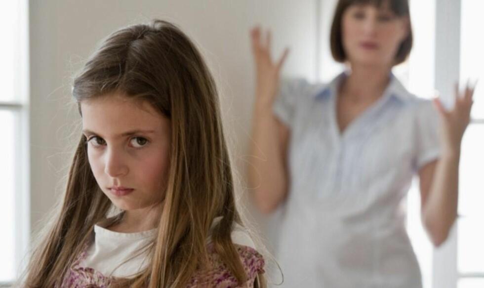 TRASS: Barn i 6-årskrisen kan oppføre seg som om de er i trassalderen. ILLUSTRASJONSFOTO: Thinkstockphotos.com