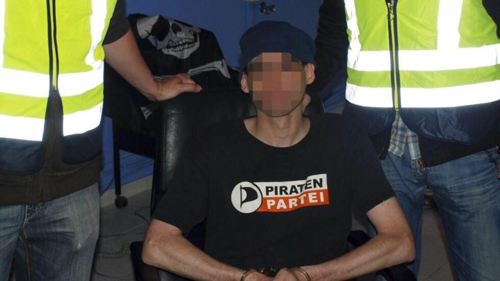 PÅGREPET:  35-åringen som er født i Alkmaar, vest i Nederland, er kun identifisert ved initialer: SK.Foto: EPA/SPANISH POLICE HANDOUT.