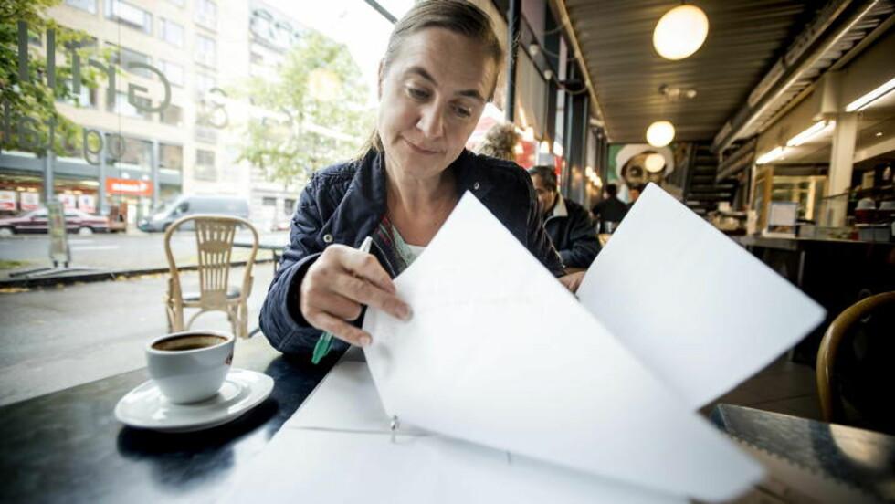 <strong>ARRANGERER DEMONSTRASJON:</strong> Veronica Zimmer er koordinator for demonstrasjonen som skal skje utenfor Stortinget den 10. mai.  Foto: Bjørn Langsem / Dagbladet.