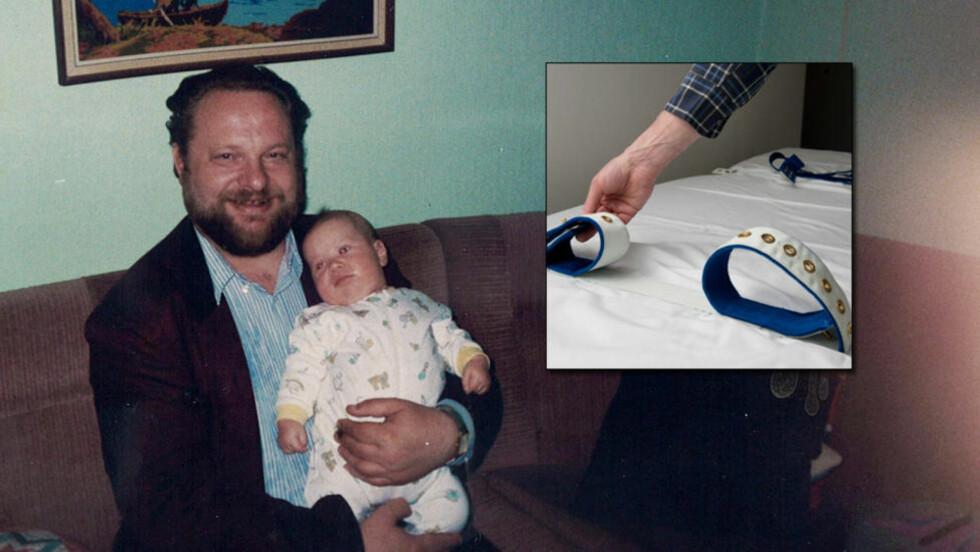 DØDE I BELTESENG: Ivar Kjell Granberg (64) døde reimet fast i belteseng på psykiatrisk klinikk i Tromsø 4. juli 2011. Foto: Privat/Øistein Norum Monsen