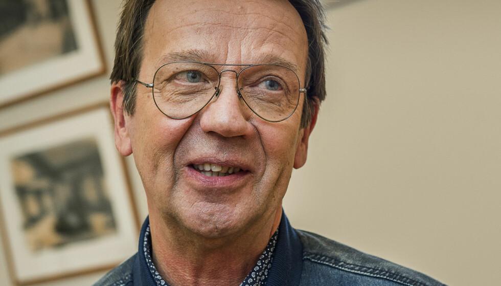 SYKEMELDT: Artist Björn Skifs måtte sy fire sting i panna etter den dramatiske hendelsen for to uker siden. Foto: Jonas Ekströmer / NTB scanpix