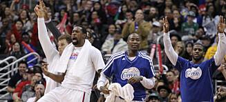Clippers uten tap siden november