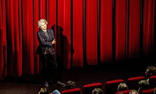 NORGESPREMIERE: Regissør Andrej Nekrasov forsvarte filmen på Filmens hus i Oslo i juni. Det ble en opphetet debatt i etterkant av visningen. Foto: Thomas Rasmus Skaug / Dagbladet