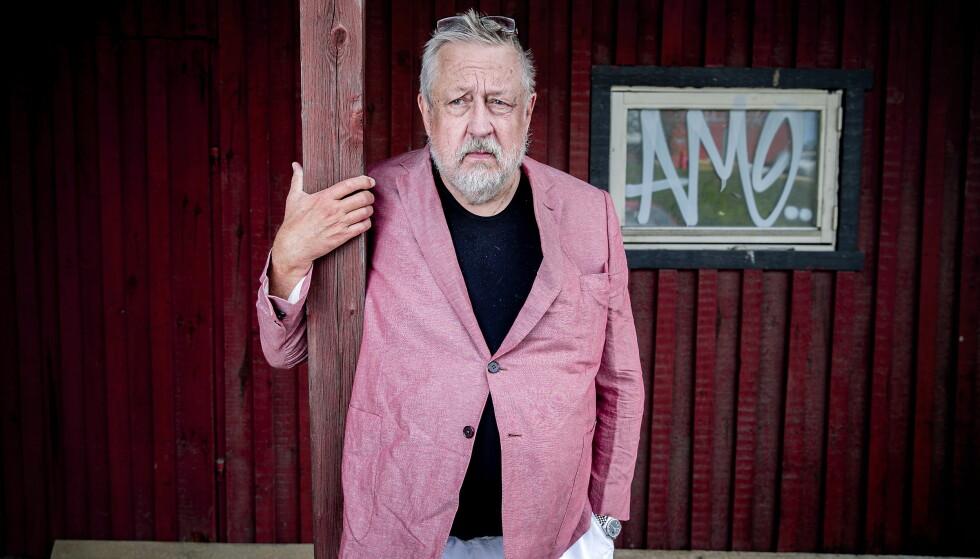 Befriende frekk: Leif GW Perssons nye roman, «Bombemakeren og kvinnen hans», er en dagsaktuell og forykende spenningsroman, mener anmelderen. Foto: Bjørn Langsem
