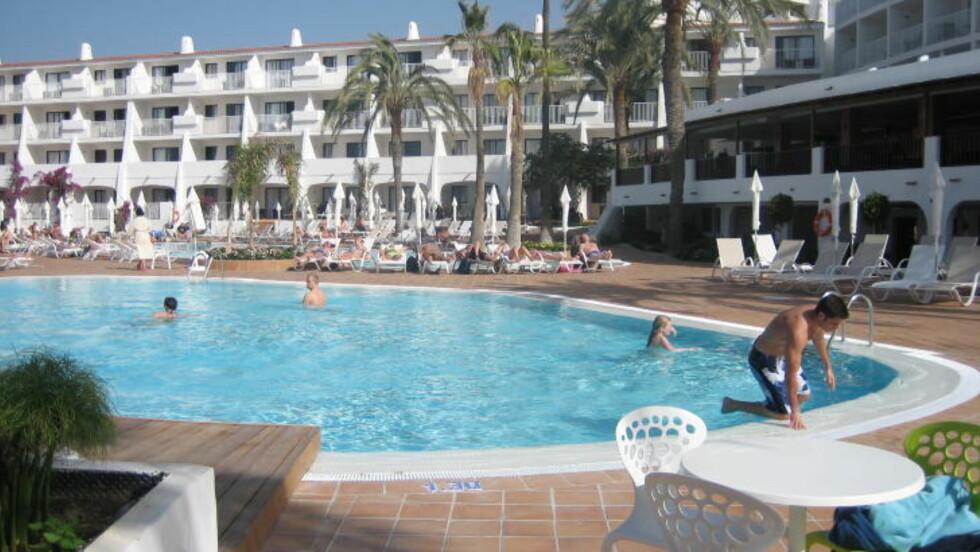 BRUK TID: Det kan være masse penger å spare på å bruke litt tid på å finne hotell. Husk å sammenlikne priser før du bestiller. Dette er Sunprime Atlantic View Resort & Spa på Playa del Inglés. Foto: KIRSTEN BUZZI