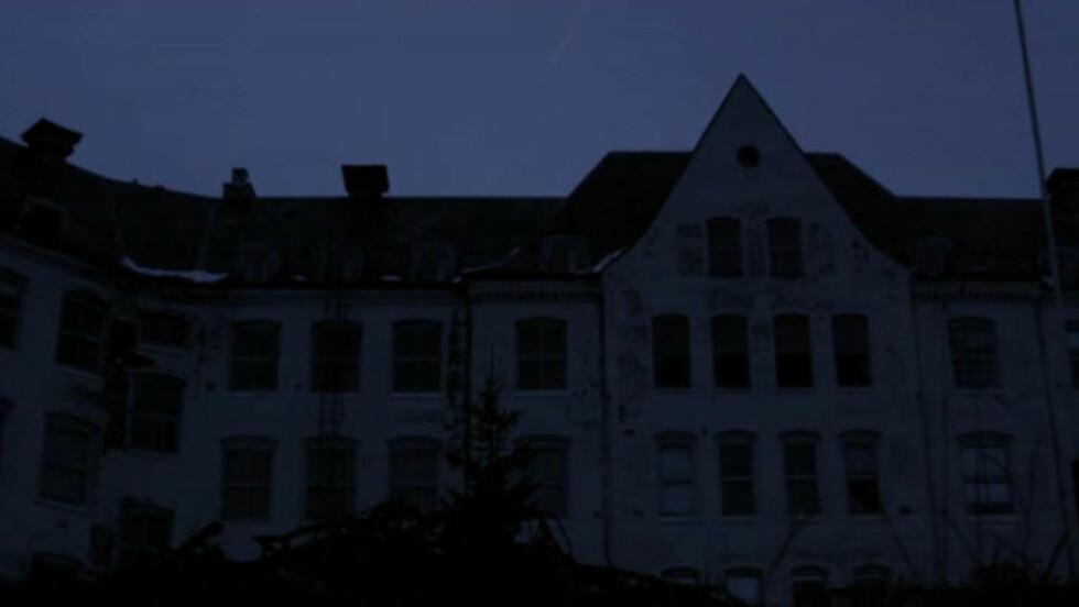 FORLATT :  Sanatoriet på Harastøl er et av stedene som brukes som filmsett i den kommende «Villmark» V2. Foto fra video