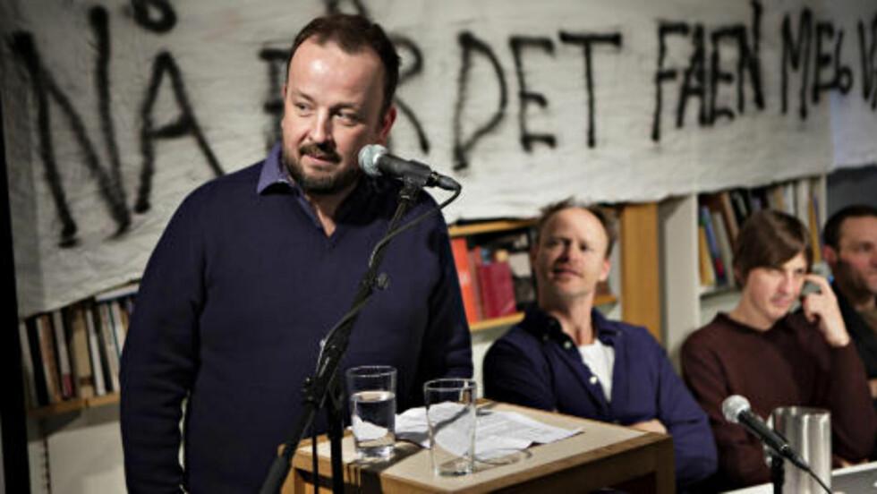 OM RUNKESTI: Kommentator Frithjof Jacobsen i VG tror ikke Black Debbath kan stoppe kvinneskulpturparken på Ekeberg, selv om de frykter at det blir en runkesti. Foto: Anders Grønneberg